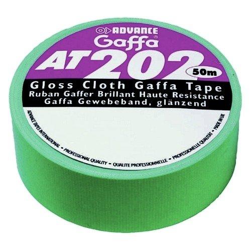 Gewebeklebeband GAFFA AT202 grün Farbe: grün
