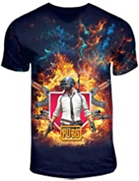 f98df30c0 Exclusive PUBG Battlegrounds Full Printed Dri-Fit T-Shirts for Kids/Boys -