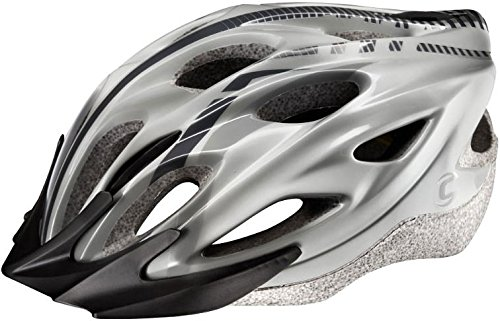 Cannondale Quick MTB Fahrradhelm–Silber, L-XL