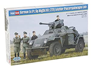 Hobby Boss 83814-Maqueta de German Le.PZ.SP.WG Tanque Ligero spah Carro de Late