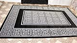 Deko Koenig Medusa Versace Teppich Carpet Bodenbeläge, Teppich Luxus 1cm Dick v(150 x 80 cm(Läufer) 230 x 160 290 x 200 (300 x 80 cm)