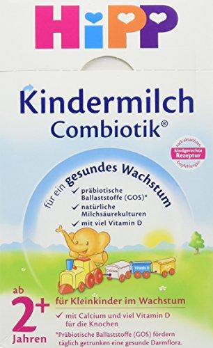 HiPP Kindermilch Combiotik ab 2 Jahre, 4er Pack (4 x 500 g)