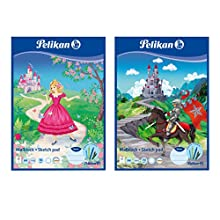 Pelikan 137679 Colouring Pad C4 100 Sheets Assorted Designs