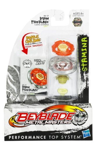 Beyblade Metal Masters - Stamina Battle Top #BB59 Burn Fireblaze (Masters Metal Beyblades)