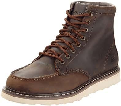 Skechers ArrangedKarl 63598, Herren Boots, Braun (CDB), EU 40