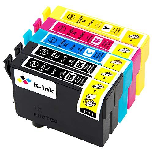 Reemplazo Compatible marca K Ink Cartuchos Tinta Epson