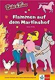 Bibi & Tina: Flammen auf dem Martinshof: Lesen lernen - Leseanfänger ab 6 Jahren