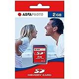 AgfaPhoto SD Memory cards 2GB SD memoria flash - Tarjeta de memoria (SD, 24 x 2,1 x 32 mm)