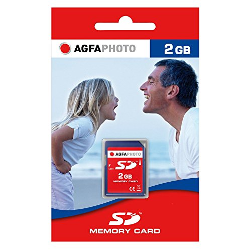 AgfaPhoto Secure Digital (SD) 2GB Eco Speicherkarte (Wii-sd Karte 2gb)