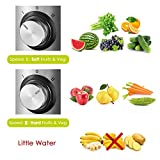 from Aicok Juicer Aicok Juice Extractor Whole Fruit Juicer with 75mm Wide Mouth, 800W Centrifugal Power Juicer, Juicer for Fruit and Vegetables, 2 Speed with Juice Jug and Cleaning BrushBPA Free