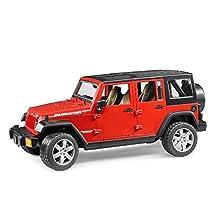 Bruder 02525 - Jeep Wrangler Unlimited Rubicon (farblich sortiert)