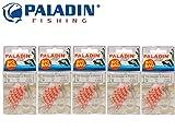 Paladin Silikon Stopper & Perlen Medium - 270 Schnurstopper für Sbirolinos & Angelposen,...