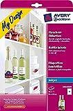 Avery Zweckform My Design Flaschen Etiketten, 20 E
