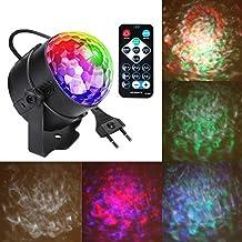 RGB DMX512 Discoteca DJ Stage Lighting LED – MP3 Función – Cristal Magic Ball Effect – Luz para Fiestas KLUB MP3/USB/mando a distancia/de sonido activo
