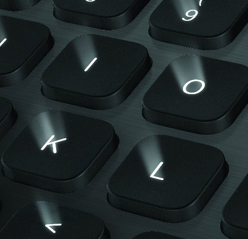 Logitech Bluetooth Illuminated Keyboard K810 (AZERTY, französisches Tastaturlayout)