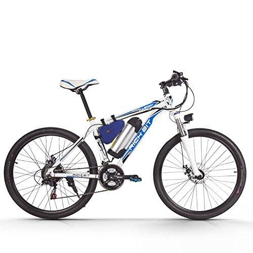 eBike_RICHBIT 006 Bicicleta de Montaña Eléctrica Bicicleta de Calle Bicicleta de Ciudad Bicicleta de Ciclismo con Batería Extraíble de Iones de Litio de 36V