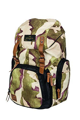 Imagen de nitro rucksack weekender  , color multicolor, talla 23 x 30 x 55 cm, 42 liter alternativa