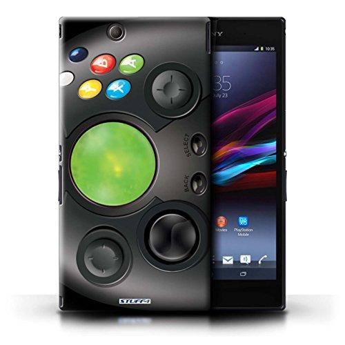 Kobalt® Imprimé Etui / Coque pour Sony Xperia Z Ultra / Playstation PS1 conception / Série Console (jeux vidéo) Xbox