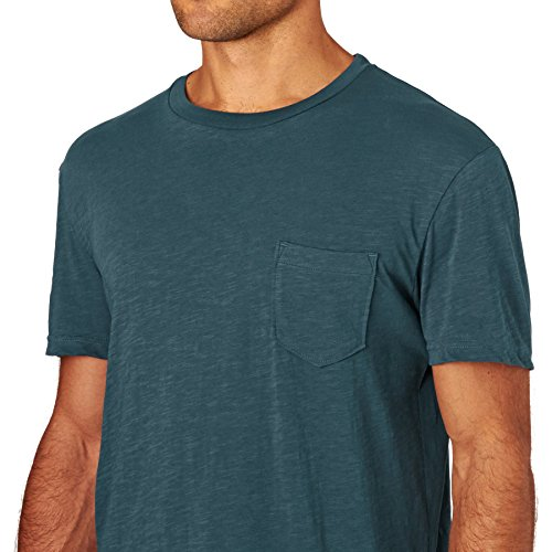 "Herren T-Shirt ""Slubstitution"" Indian Teal"