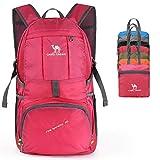 CAMEL CROWN 35L Packable Backpack, Lightweight Hiking Daypack, Foldable Rucksack, UltralightWater Resistant &Handy