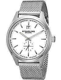 Stührling Original Man Symphony 790 79001SO - Reloj de cuarzo, para hombre con corea de acero inoxidable, plateado
