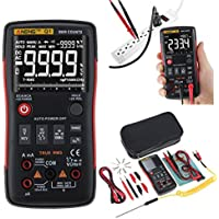 cuigu el botón automático 9999de multímetro digital de vraie-rms cuenta la cámara de control Analogue de gráfica de barras