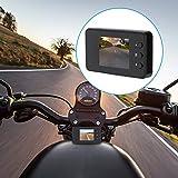 Dual 1080P Sport HD Kamera,1080P Motorrad Auto Fahrrad Dual Action Wasserdichte Kamera Video DVR...