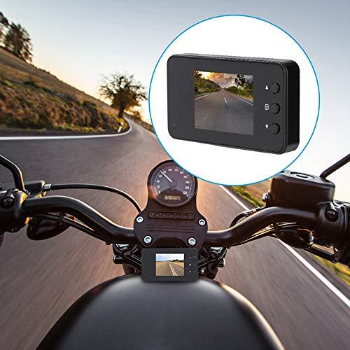 Kamera,1080P Motorrad Auto Fahrrad Dual Action Wasserdichte Kamera Video DVR Camcorder,140 Grad Ultra Weitwinkelobjektiv,3 Zoll LCD Bildschirm,1280 * 720P ,mit viel Zubehör ()