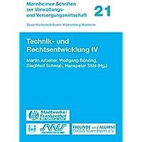 Technik- Und Rechtsentwicklung: 4