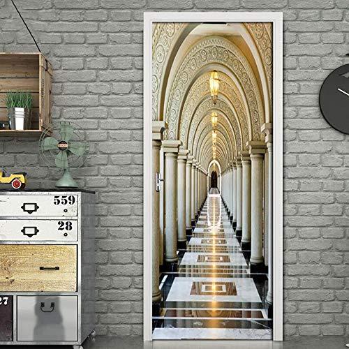 Escalera de caracol DIY Vinilo Adhesivos de pared Sala de estar Dormitorio Habitación infantil Hogar Mural decorativo Papel tapiz de arte