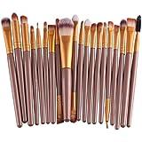 20Pcs/set cepillo de lana de maquillaje Neceser,, Feitong Brochas Herramientas