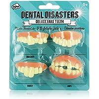 NPW Joke Fake Teeth Set - Fancy Dress Teeth Dental Disasters