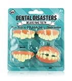 Dental Disasters - Deluxe Fake Teeth! (accesorio de disfraz)