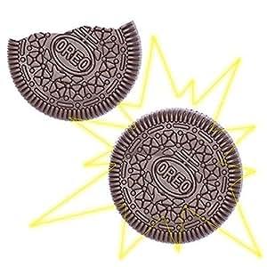 Oreo Tour de magie marrant biscuit mordu & restauré (marron)