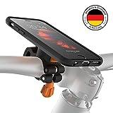 MORPHEUS LABS M4s BikeKit Bike Kit - Fahrradhalterung iPhone 6/6s - Handyhalterung Fahrrad iPhone 6/6s & iPhone 6s Hülle iPhone 6 US-Mil.standard DropTest, patentierter Magnetverschluss schwarz