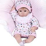 LCLrute Hot 42 CM Baby Puppe Lebensechte Reborn Neugeborenen Puppe Kinder Mädchen Playmate