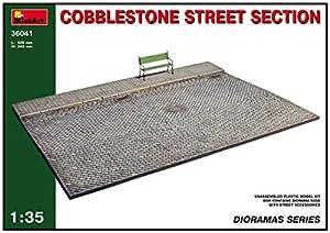 Miniart 1:35 - Cobblestone Street Section - MIN36041