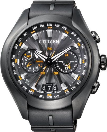 Citizen Uomo Watch Eco-Drive SATELLITE WAVE AIR Japan Guarda CC1075-05E