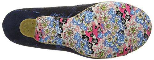 Irregular ChoiceDazzle Razzle - Scarpe con Tacco donna Blue (Navy)