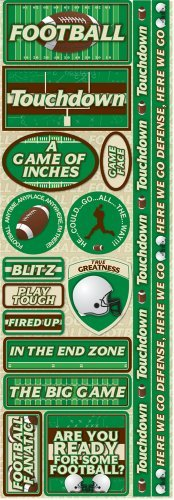 Reminisce Signature Series Combo Sticker, Football by Reminisce