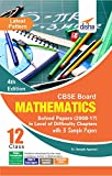 CBSE Board Class 12 Mathematics Solved Papers (2008 - 17)  in Level of Difficulty Chapters with 3 Sample Papers