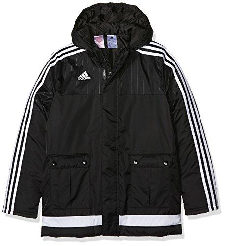 adidas Kinder Jacke/Anoraks Tiro15 rn jk y, Black/White, 140