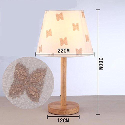 L@YC Einfache Lampe Warm Bedside Study Schlafzimmer gebraucht kaufen  Wird an jeden Ort in Deutschland