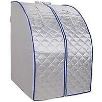 Valla infrarroja portátil plegable, cabina térmica con infrarrojos 1000 W