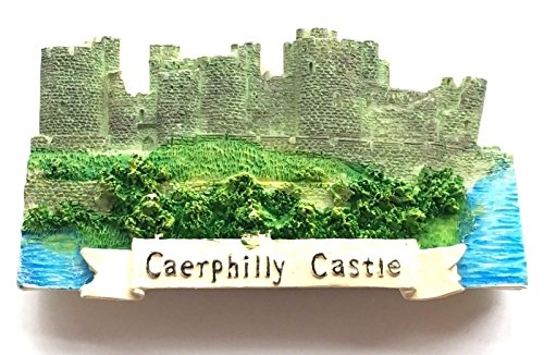 Emblems-Gifts Kühlschrankmagnet Caerphilly Castle in Wales -