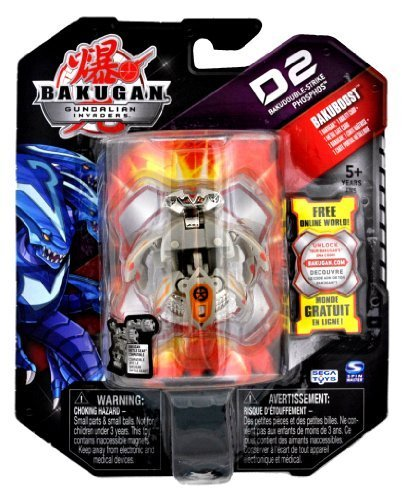Spin Master Year 2010 Bakugan Gundalian Invaders D2 BakuDouble-Strike Series ... by Spin Master