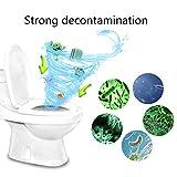 YA-Uzeun Nettoyant Automatique pour cuvettes de Toilettes avec tablettes Bleues