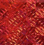 folia 317 Holografie-Klebefolie, 400 mm x 5 m, Magic Rot