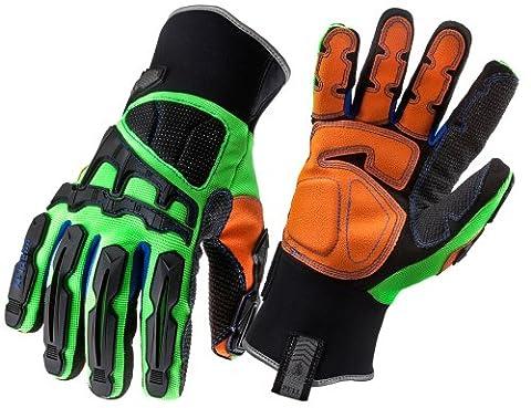 Ergodyne Proflex 925F(x)WP Thermal Waterproof Dorsal Impact Protection Gloves- Medium