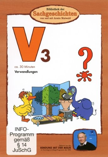 Bibliothek der Sachgeschichten - (V3) Verwandlungen V3 Dvd